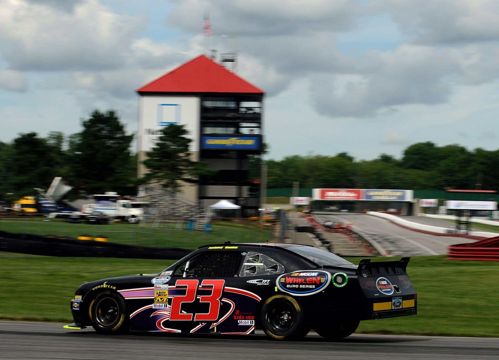 zweiter Teil des NASCAR-Abenteuers für EuroSeries-Piloten  #Gandon #Anto Gandon #Euro-Racecar-Series #Mid-Ohio #Mustang #NASCAR #NASCAR Whelen Euro Series #Nationwide #NNS #RickWare Racing #Whelen
