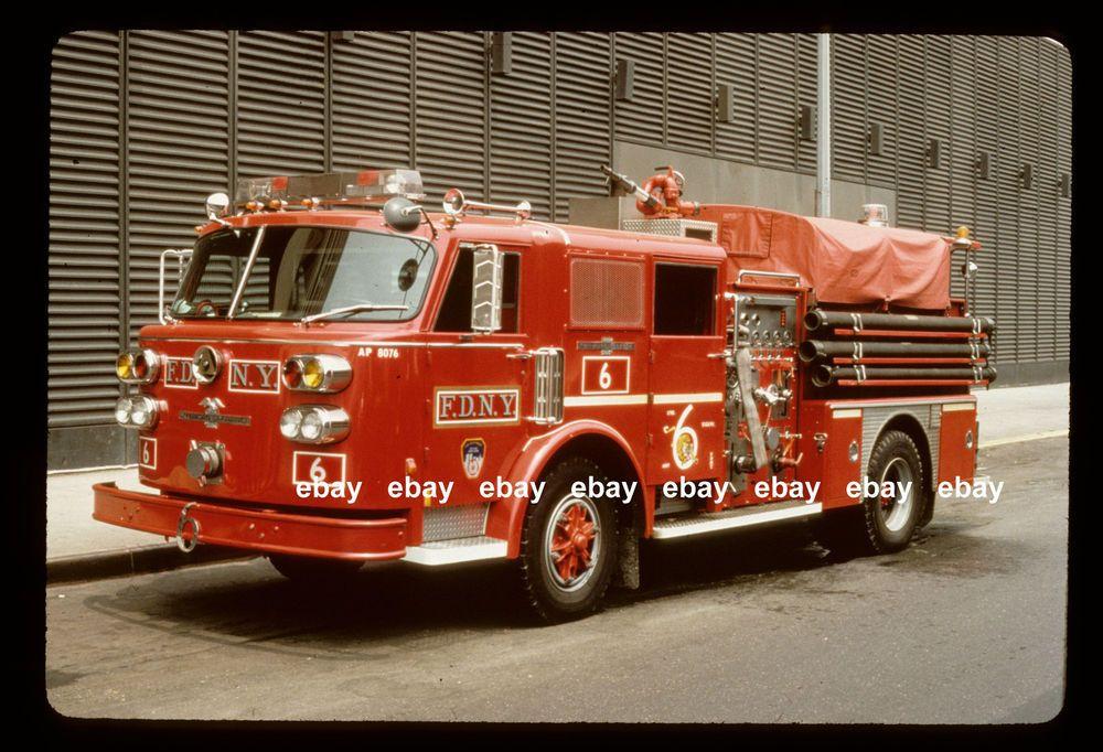 Details about New York City Engine 65 1980 American La France pumper