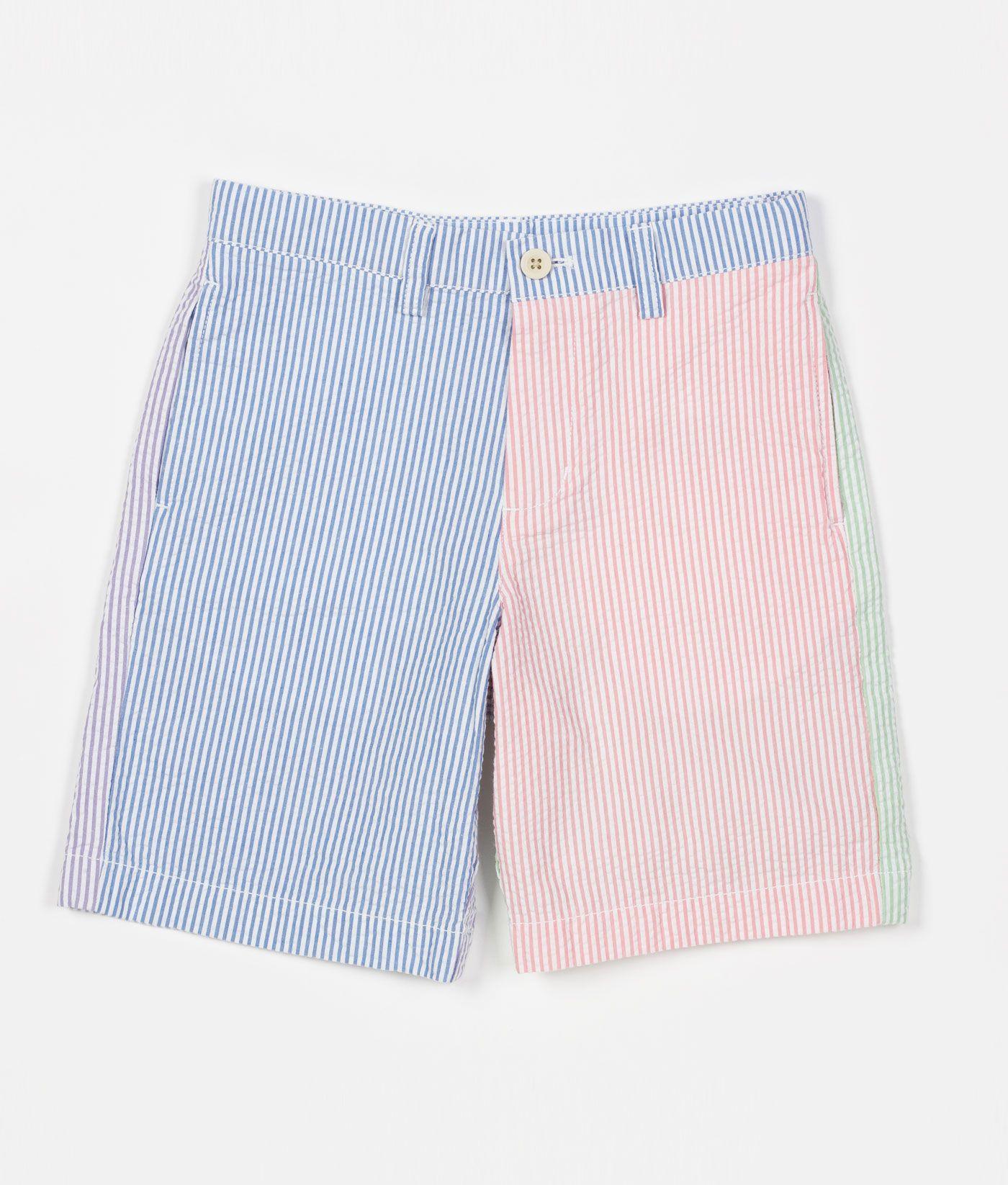 0ee016f629 Buy Little Boy's 4-Panel Seersucker Club Summer Shorts | Vineyard Vines®
