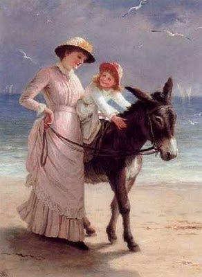 Victoria era una niña muy gordita y se parecía mucho a su abuelo el rey Jorge III. Drina, como la llamaban entonces, jugaba con sus muñecas, correteaba por los corredores o paseaba por los jardines de Kensington montada en el burro que su tío York le había regalado.