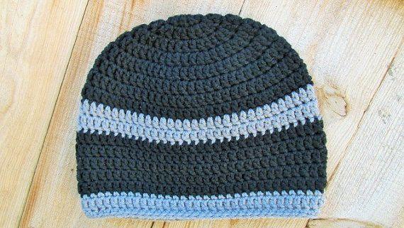 5a1ed050a9c Crochet · Adult Skull Cap Crochet Hat ...