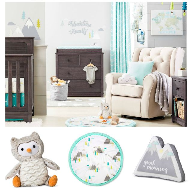 It\'s here! Cloud Island\'s baby-soft details will make your nursery ...