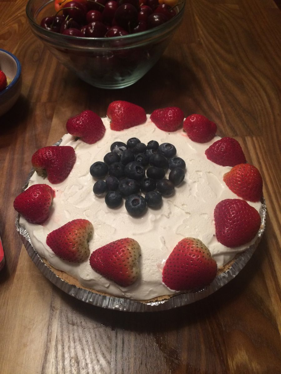 Just to start out with this disclaimer , this could be the most fattening thing I have ever made. Delicious but wow!!!! What the heck it's dessert right? Dessert could and should be decadent or els...