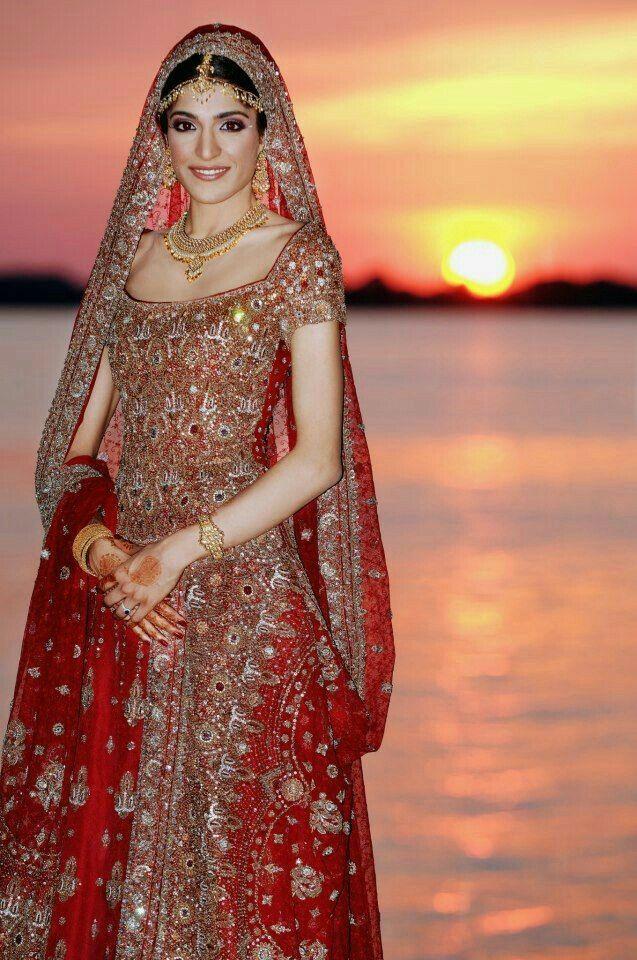 Muslim bride walima     outfit | beautiful brides   lehnga