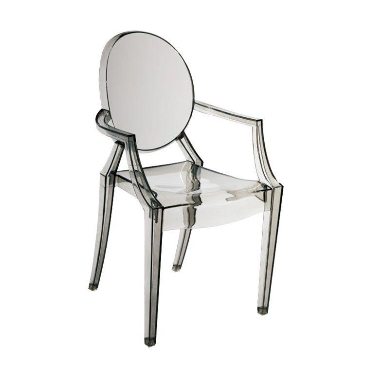 Moda kid Apprendimento sedia bambino sedia di plastica Trasparente ...