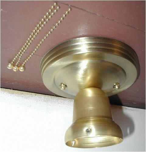 3 Chain Light Fixture For Vintage 30s Art Deco By Vintagegrrrl