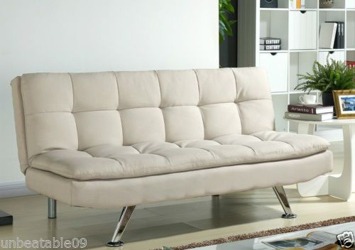 Fabric Sofa Bed Set 3 Seater Sofabed