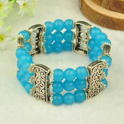 3 strand light blue