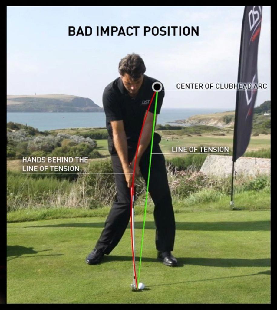 11+ Bad golf drive info