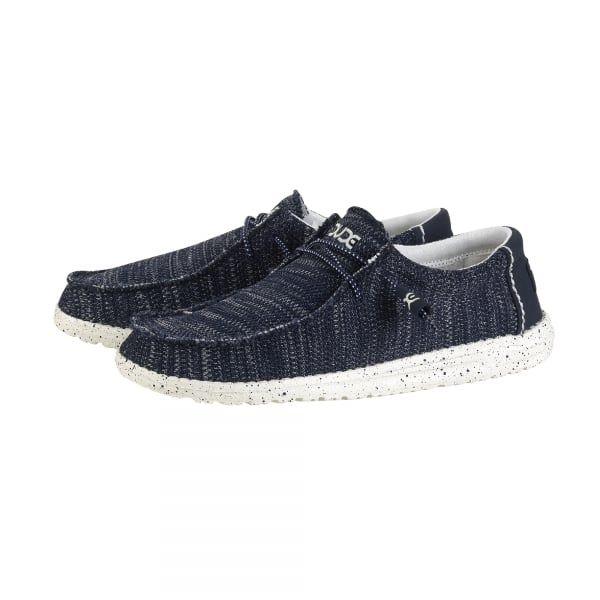 Dude Shoes Men's Wally Linen Chocolate UK12 / EU46 GU8jGs