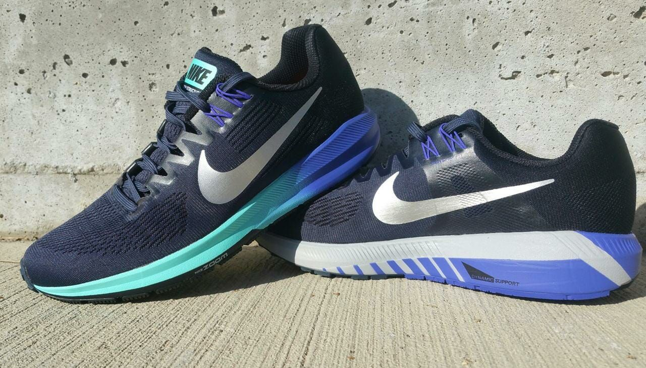 The Nike Zoom Structure 21 is a shoe
