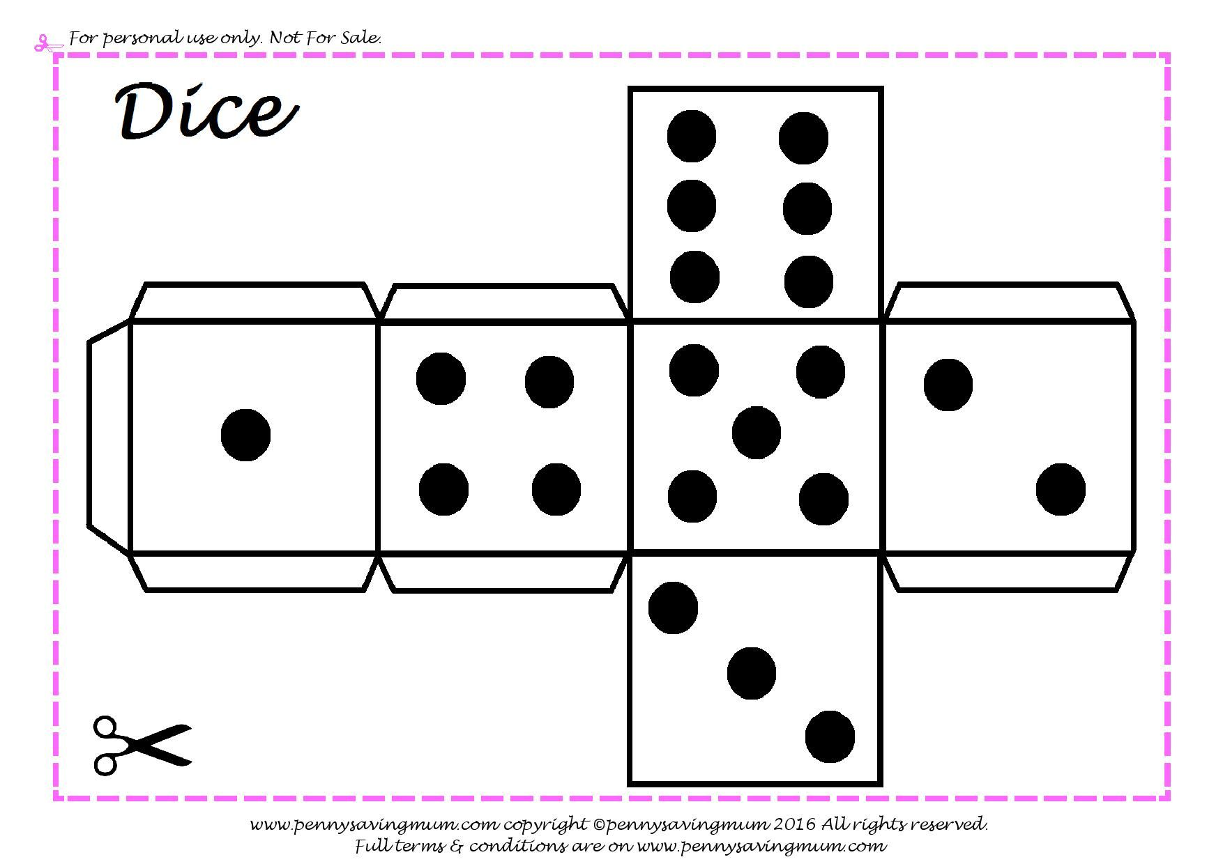 Cut Out Dice