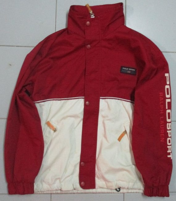 Vintage polo sport ralph lauren jacket the sport for Polo shirt with sport coat
