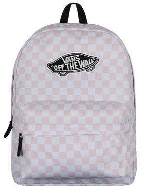 863bca20570 Vans Realm Backpack - Chalk Pink & White Checkerboard in 2019 | Wish list |  Vans school bags, Cute backpacks for highschool, Vans backpack