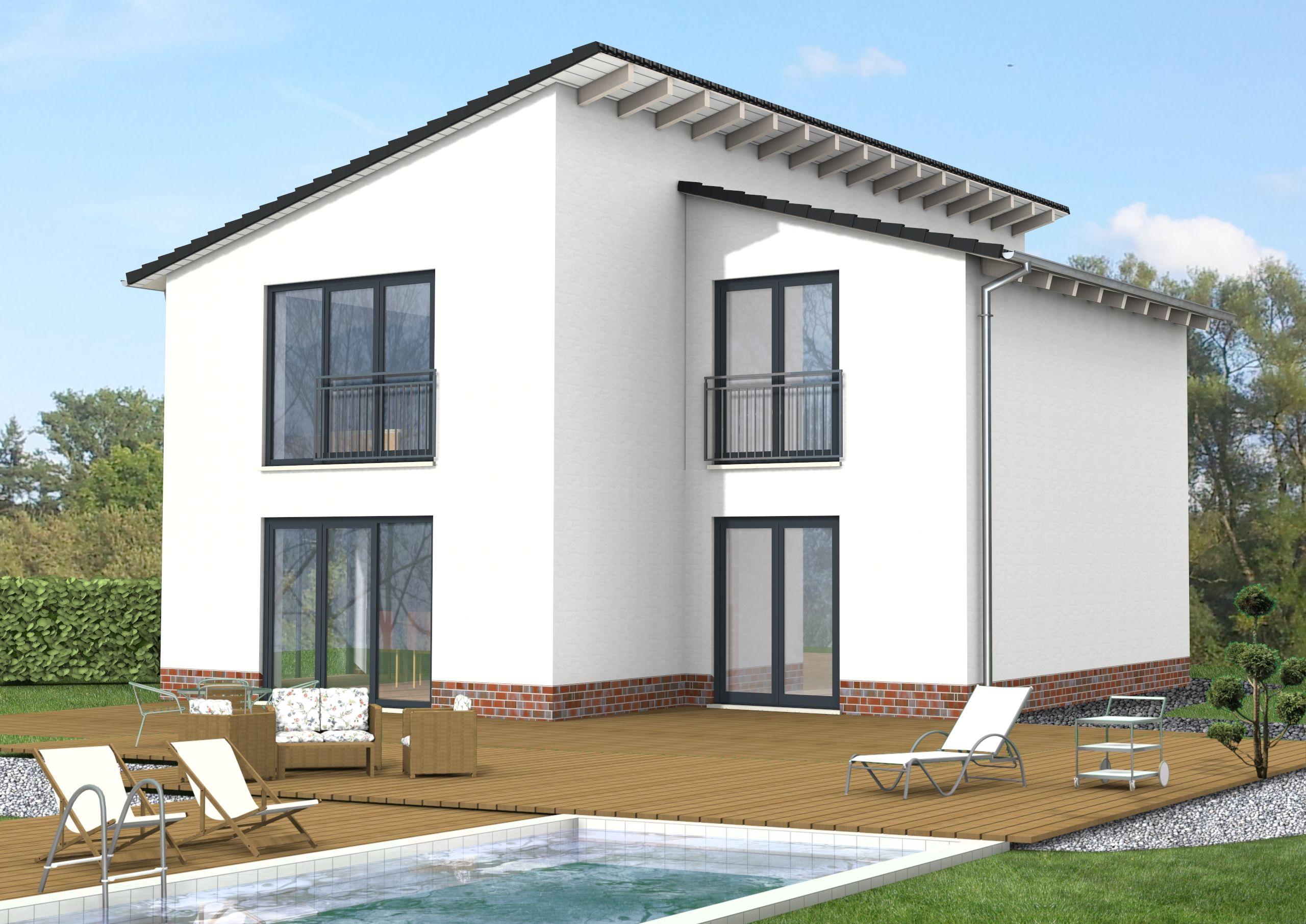 si avantgarde 159 pultdachhaus modern und schick dachneigung pultdachhaus und wohnfl che. Black Bedroom Furniture Sets. Home Design Ideas