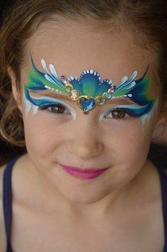 Peinture Maquillage Visage : pingl par eva husson sur maquillage maquillage enfant grimage et peinture visage ~ Nature-et-papiers.com Idées de Décoration