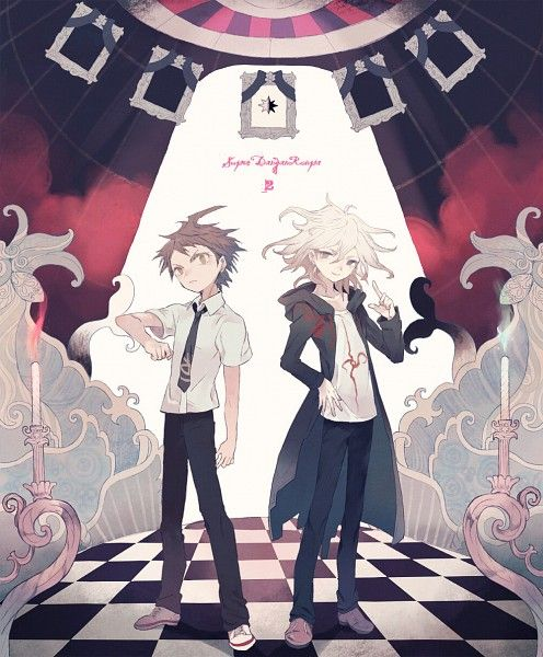 Danganronpa: Hajime and Komeda <3