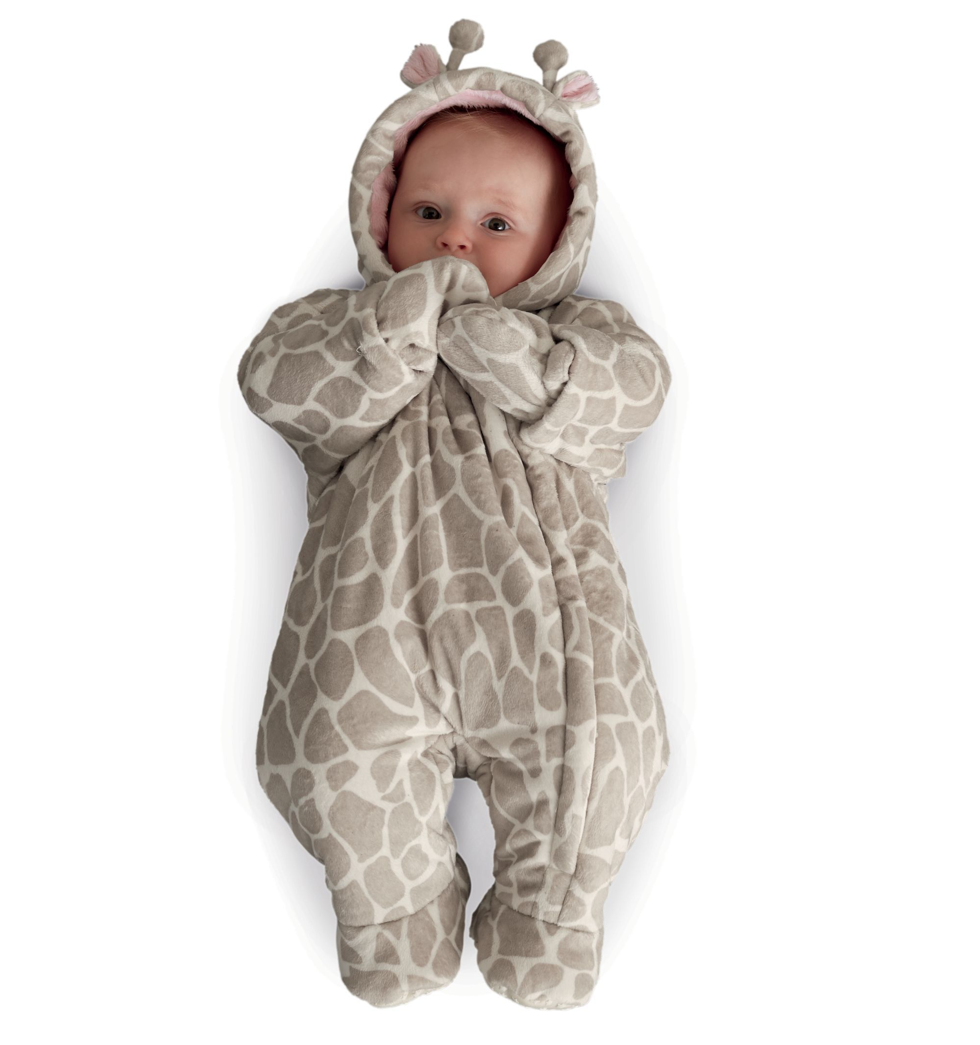 Mothercare Fluffy Giraffe Snowsuit Baby Girl Outfits Newborn Baby Girl Clothes Cute Baby Girl Outfits