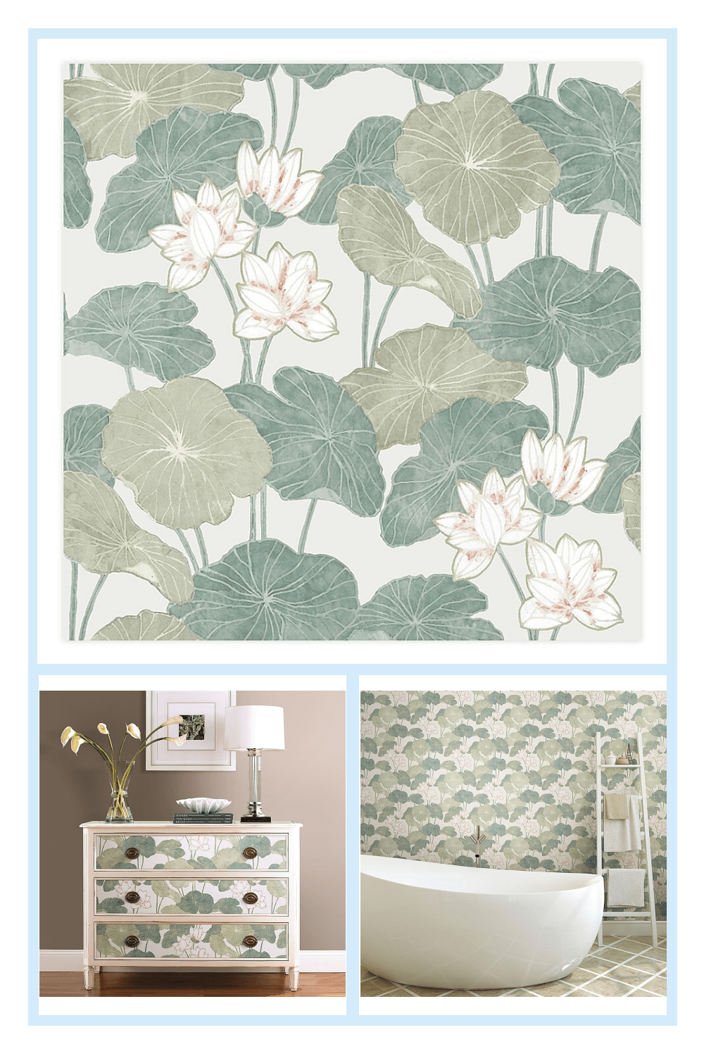 Roommates Lily Pad Peel Stick Wallpaper Bed Bath Beyond Lily Pads Peel And Stick Wallpaper Wall Decor Decals