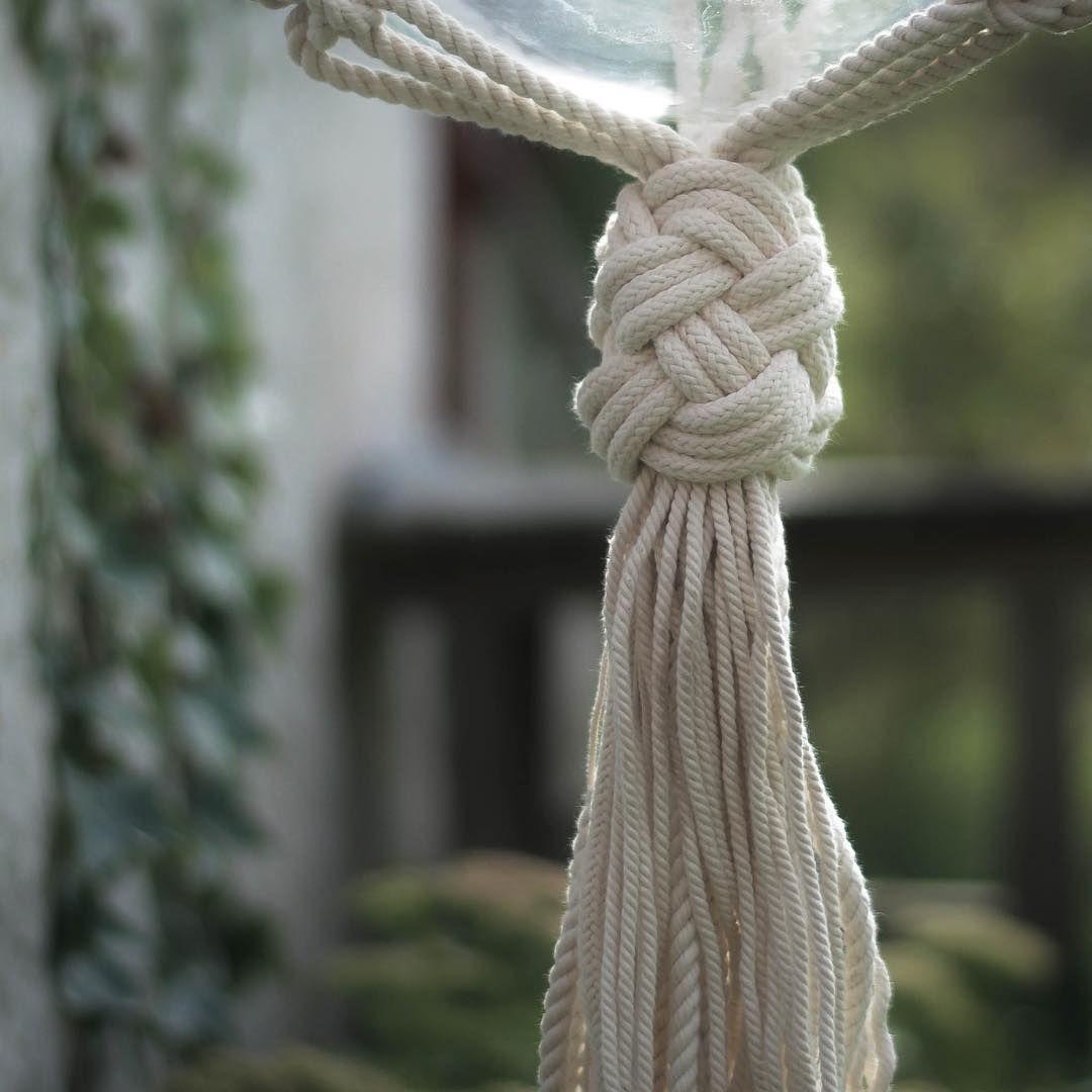 Turkish Knot Frostadesign Planthanger Macrame Makrame Ampel