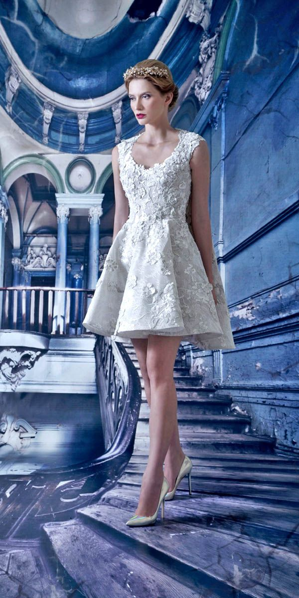 27 Amazing Short Wedding Dresses For Petite Brides | Brautkleid ...