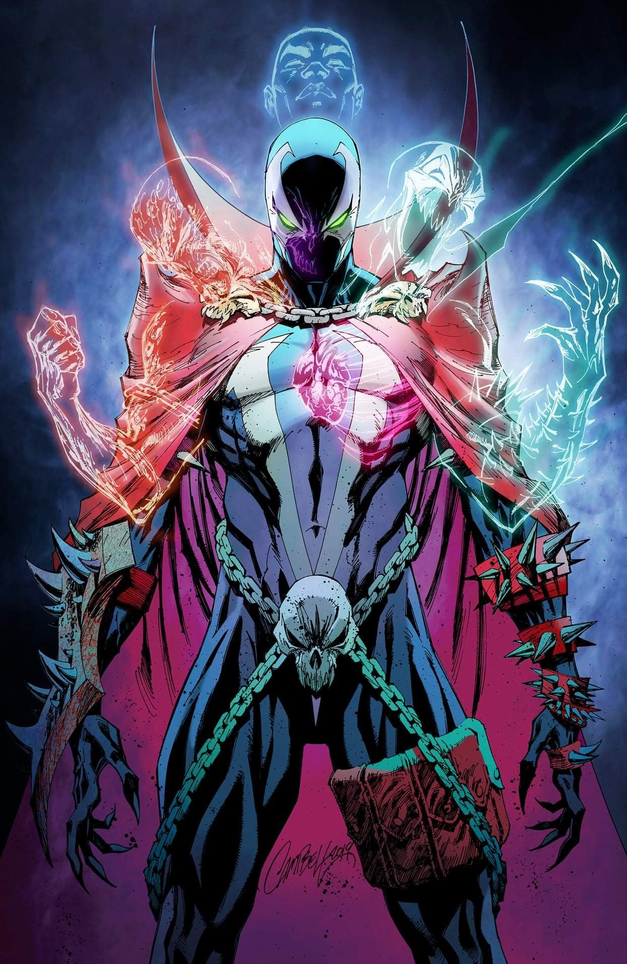 Image NM//NM 2019 Campbell Virgin Variant Cover M Spawn #300