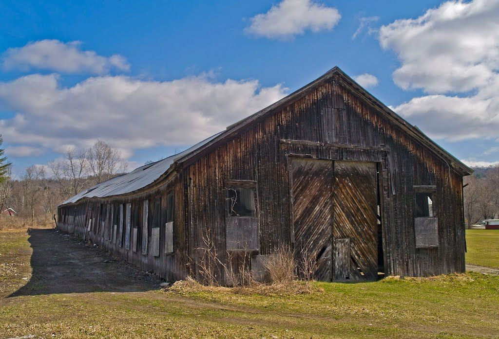 The Old Granite Shed At Atkins Field Hardwick Vermont Old