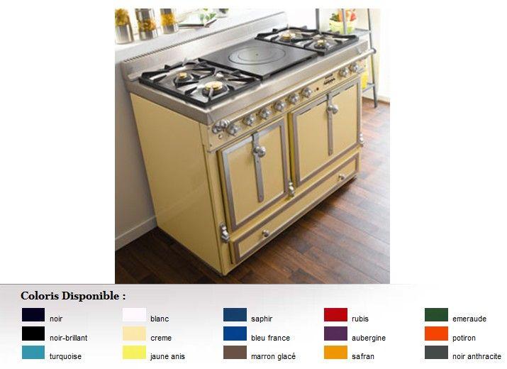 photo piano de cuisson godin exquise pro 032626 5400 lacanche pinterest kitchen range. Black Bedroom Furniture Sets. Home Design Ideas