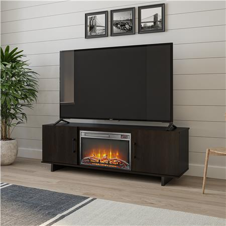 Ameriwood Furniture Southlander Tv Stand With Fireplace For Tvs