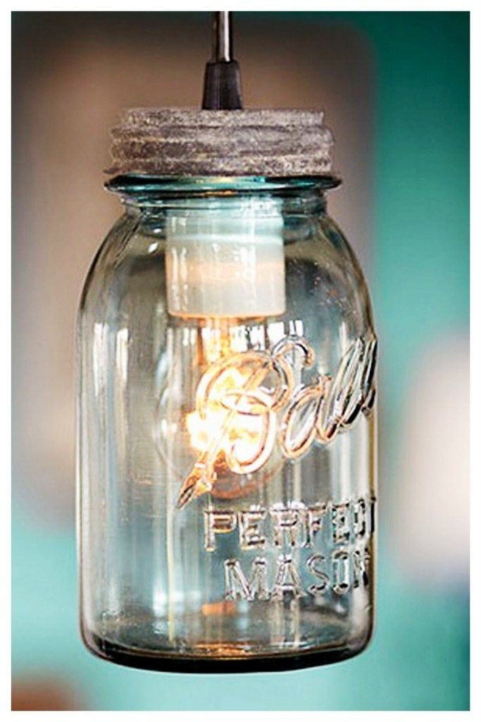 Convert A Ordinary Mason Jar Into A Bright Light With A Lamp Kit