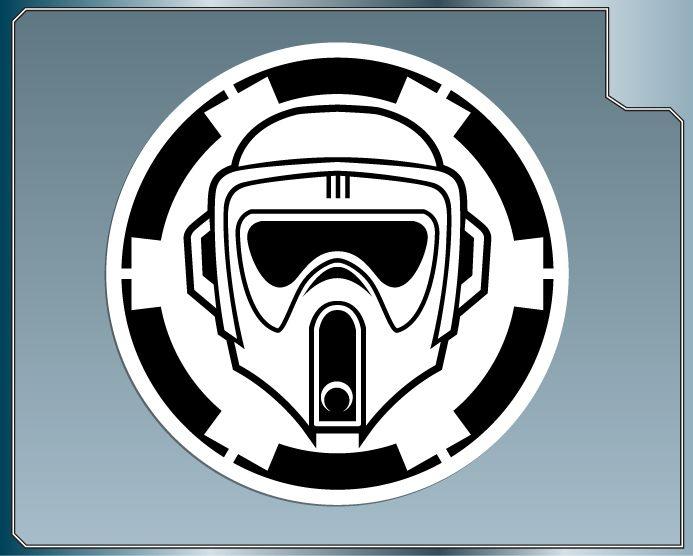 Storm Trooper Wallpaper Black