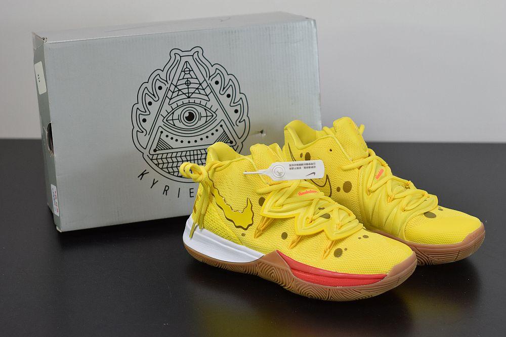 Spongebob Squarepants X Nike Kyrie 5 Spongebob Cj6951 700 Kyrie