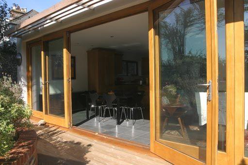 Using Accoya Doors and Windows from Westgate Joinery for an Impressive Refurbishment in Surrey! & Accoya® bi-fold doorset | Bouwinspiratie | Pinterest | Bi fold ...