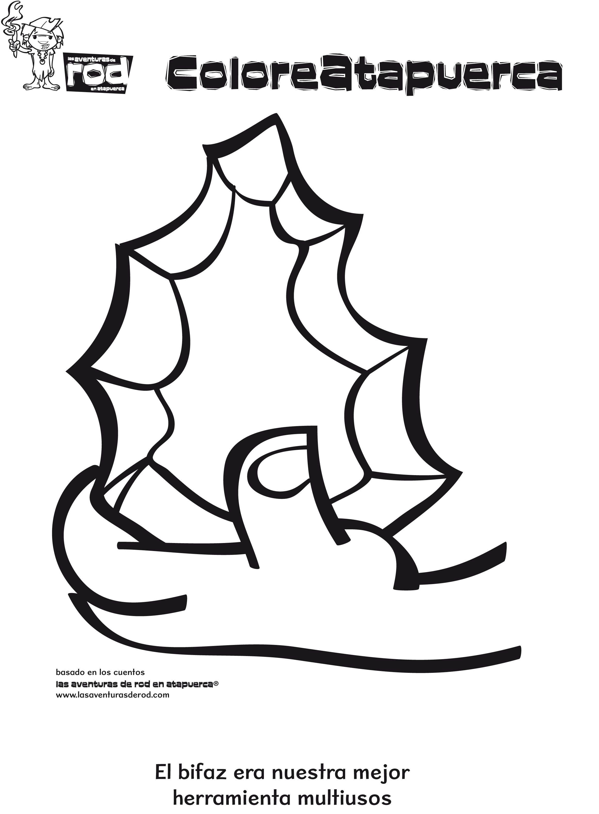 05-dibujos-para-colorear-prehistoria-bifaz.jpg (2322×3154 ...