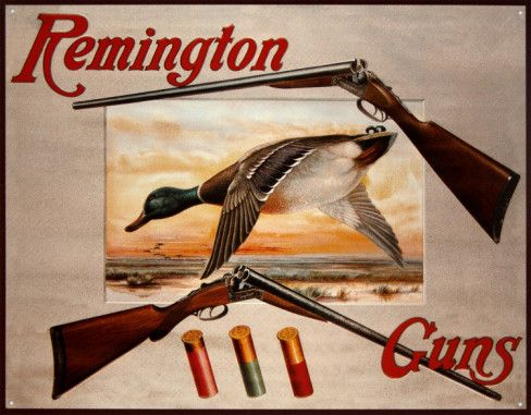 Remington Arms 2 Shotguns & Ducks Tin Sign at AllPosters com is part of Hunting signs - Remington Arms 2 Shotguns & Ducks Tin Sign  at AllPosters com  Choose from over 500,000 Posters & Art Prints  Value Framing, Fast Delivery, 100% Satisfaction Guarantee
