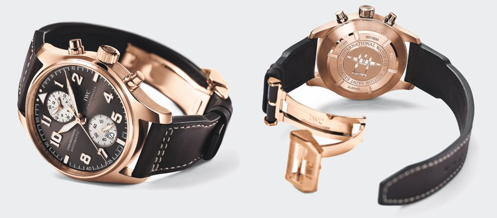 IWC Pilot's watch chronograph edition Antoine de Saint Exupery