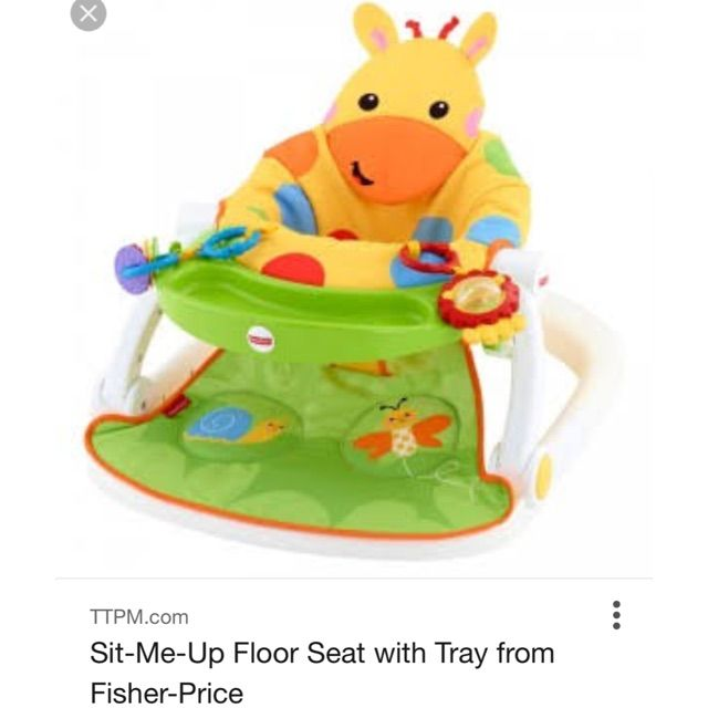 Sit Me Up Floor Seat With Tray Floor Seating Fisher Price Fisher