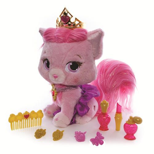 Disney Princess Palace Pets Role Play Plush with Pamper