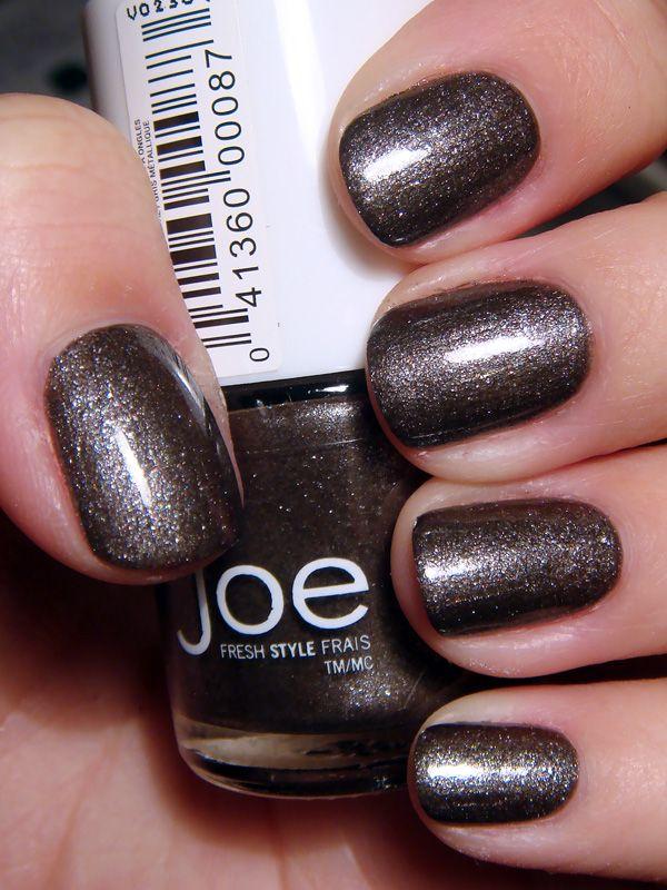 Joe Fresh – Gunmetal | fashion and beauty | Joe fresh, Nails, Beauty ...