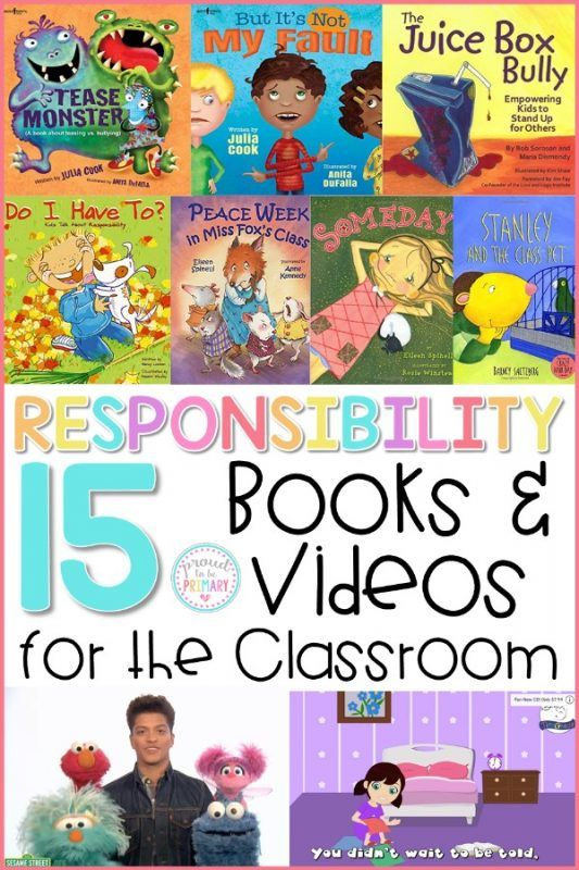 Teach Kids How to be Responsible with the Best Books and Videos