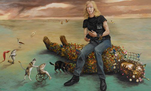 Paul Jackson: Jo :: Archibald Prize 2013 :: Art Gallery NSW