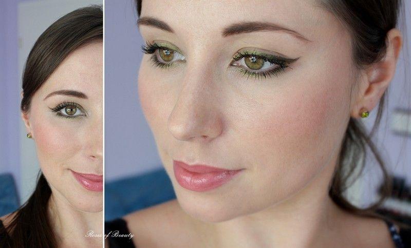 Roses of Beauty: green eyeliner