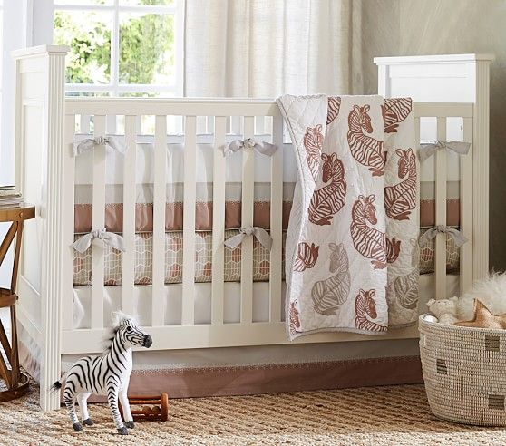 Fillmore Convertible Crib | Twin\'s nursery | Nursery bedding ...