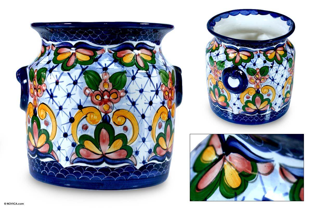Ceramic flower pot imperial garden ceramic flower