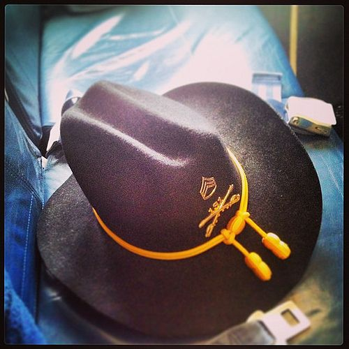 The Stetson Gets Its Own Seat Cavalry At Delta Coach Take A