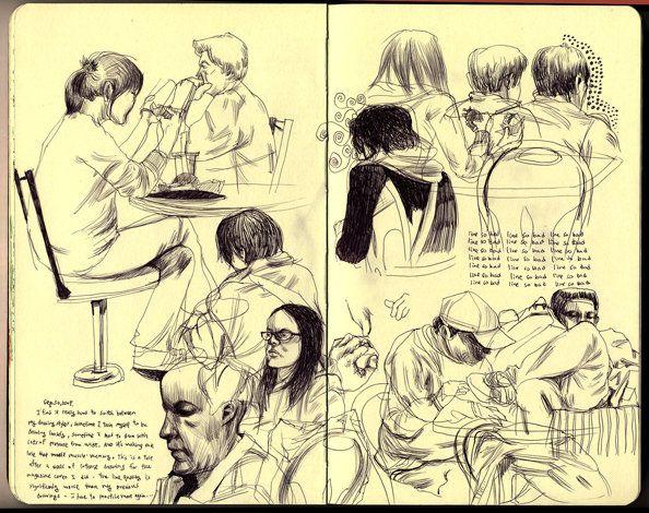 a time to live (Moleskine sketchbook.)