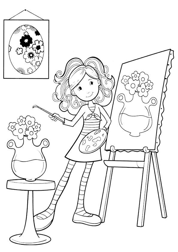 10 Beautiful Groovy Girls Coloring Pages For Your Little Ones Coloring Pages For Girls Coloring Pictures Free Coloring Pages