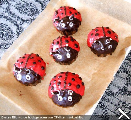 Marienkafer Muffins Muffins Kindergeburtstag Chefkoch
