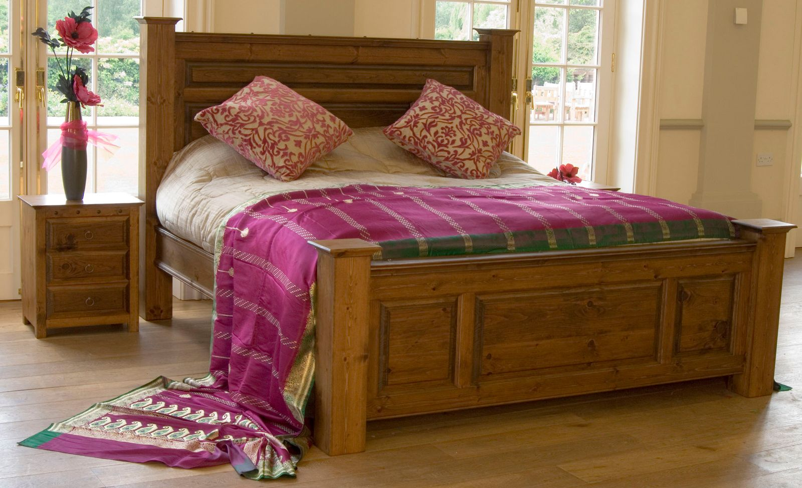 The Ambassador Handmade Beds And King Size Wooden Beds From
