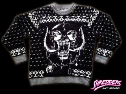 Motorhead Xmas Sweater